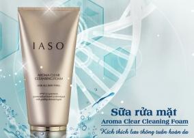 Sự thật về sữa rửa mặt tạo bọt IASO